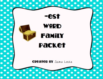 Word Family Packet (-est)