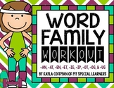 Word Families File Folder Activities