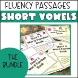 Short Vowel Word Family Fluency Passages- THE BUNDLE PACK