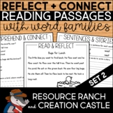 Word Family Passages with Reading Comprehension Questions Set 2