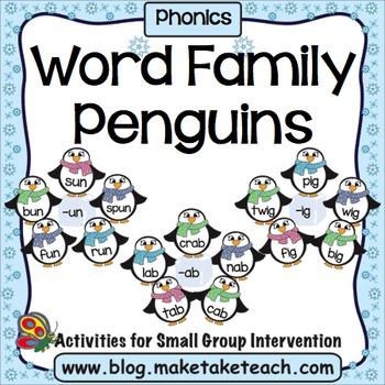 Word Family Penguins