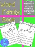 Word Family/Phonics Book