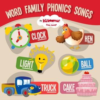 Word Family Phonics Songs