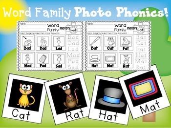 Word Family Photo Phonics!