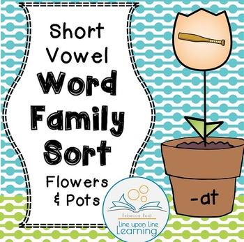 Word Family Picture Sort