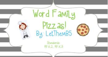 Word Family Pizzas