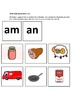 Word Family Pocket chart cards