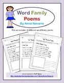 Word Family Poems
