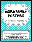 Word Family Posters {96 Full and Mini Sized}