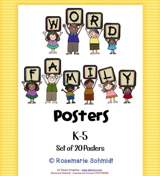 Word Family Posters K-5