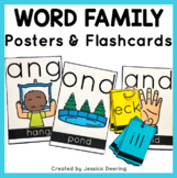 Word Family Posters- Posters and Flashcards