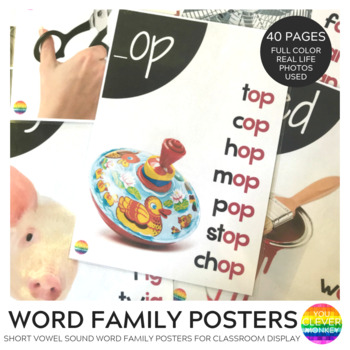 Word Family Posters - Short Vowel Sounds