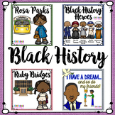 Black History Month Activities Rosa Parks, Ruby Bridges and More
