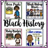 Black History Month Activities Bundle Rosa Parks, Ruby Bridges and More