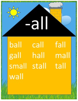 Word Family Posters with Short Vowels #3