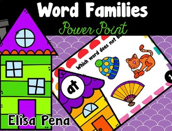 Word Family Power Point