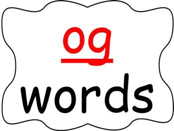 Word Family PowerPoint -og