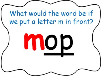Word Family PowerPoint -op