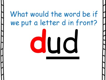 Word Family PowerPoint -ud