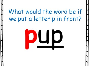 Word Family PowerPoint -up