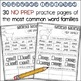 Word Family Practice Pack 2