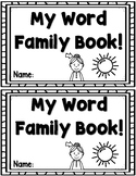 Word Family Practice Book
