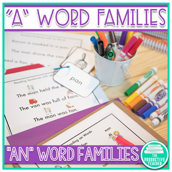 Word Family Practice -an Words
