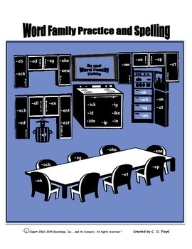 Word Family Practice and Spelling