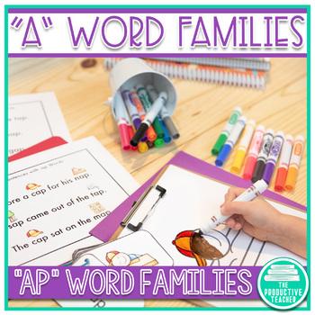 Word Family Practice -ap Words