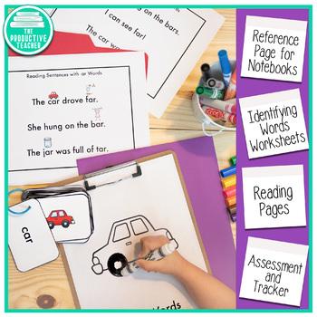 Word Family Practice -ar Words