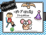 Word Family Practice {-at Family FREEBIE}