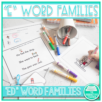 Word Family Practice -ed Words