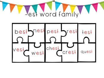 Word Family Puzzles