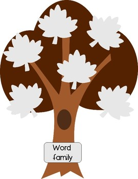 Word Family Puzzles - Fall Leaves