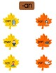 Word Family Activity - Fall Leaf Puzzles