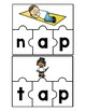 Word Family Puzzles: Short /a/