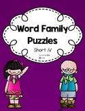 Word Family Puzzles: Short /i/