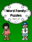 Word Family Puzzles: Short /o/