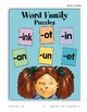 Word Family Puzzles (Word Families)