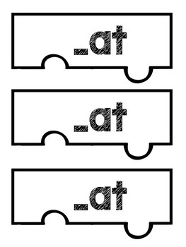 Word Family Puzzles - Word Work