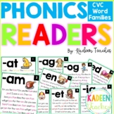 Word Family Readers Distance Learning