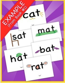 Word Family Readers Book #1 Pat and the Hat