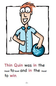 Word Family Readers Book #13 Thin Quin