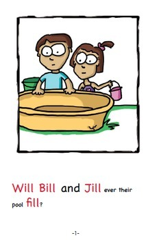 Word Family Readers Book #14 Bill and Jill