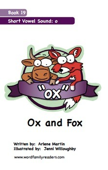Word Family Readers Book #19 Ox and Fox