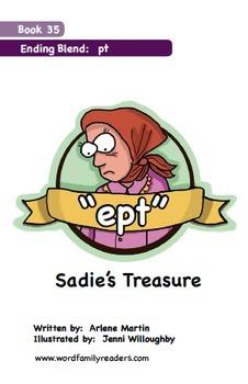 Word Family Readers Book #35 Sadie's Treasure