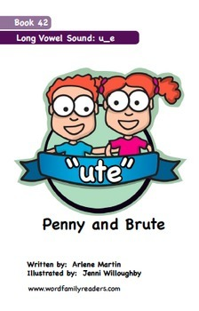Word Family Readers Book #42 Penny and Brute