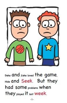 Word Family Readers Book #44 Hide and Seek