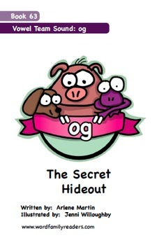 Word Family Readers Book #63 The Secret Hideout