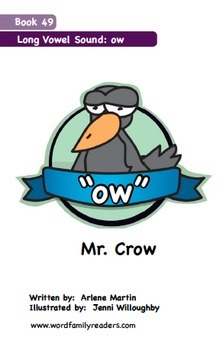 Word Family Readers Book #49 Mr. Crow